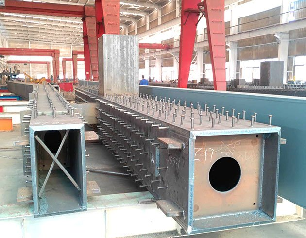 BOX section steel