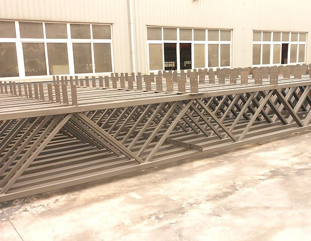 H section steel truss