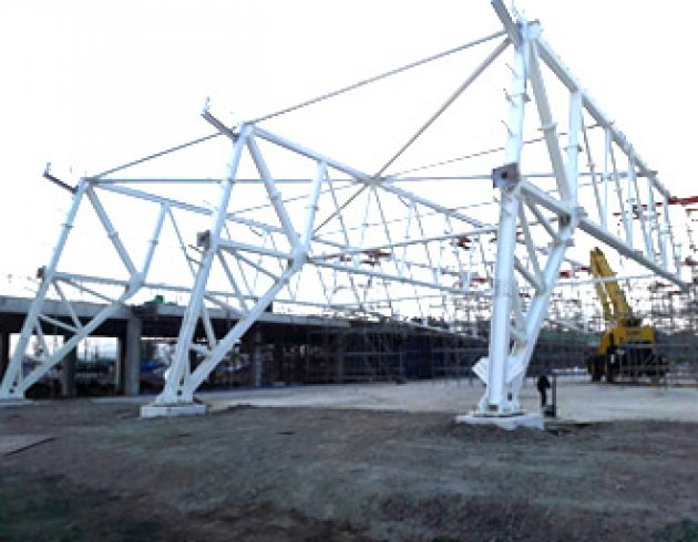 SHS tube truss